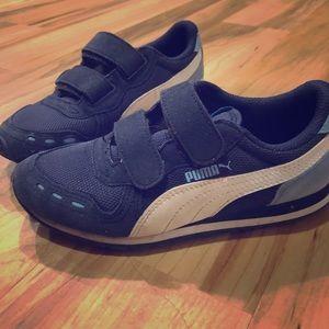 Blue Puma Shoes Size 1
